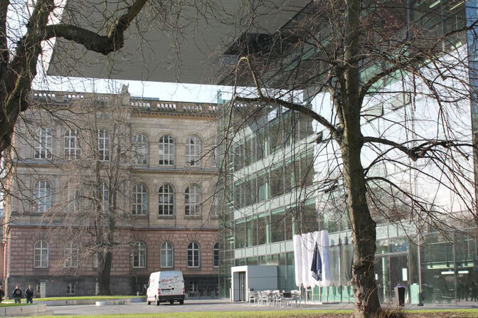 SuperC and RWTH Main Building