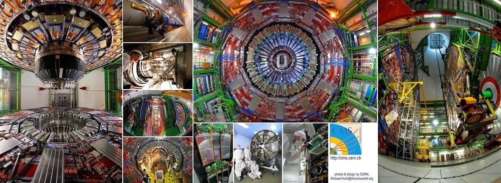 Pictures of the CMS experiment at CERN