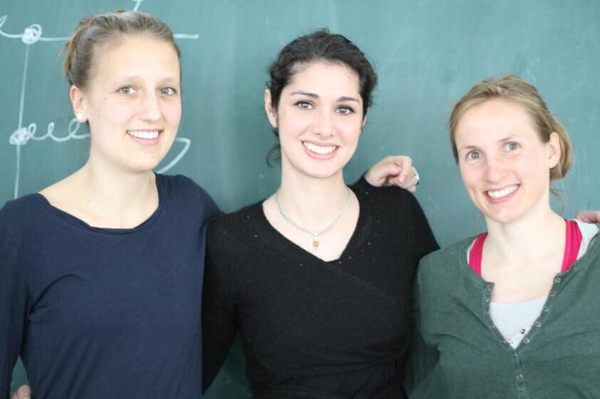 female PhD Students at TTK
