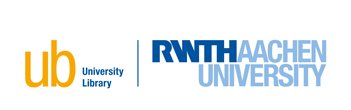 Logo of University Library RWTH Aachen University