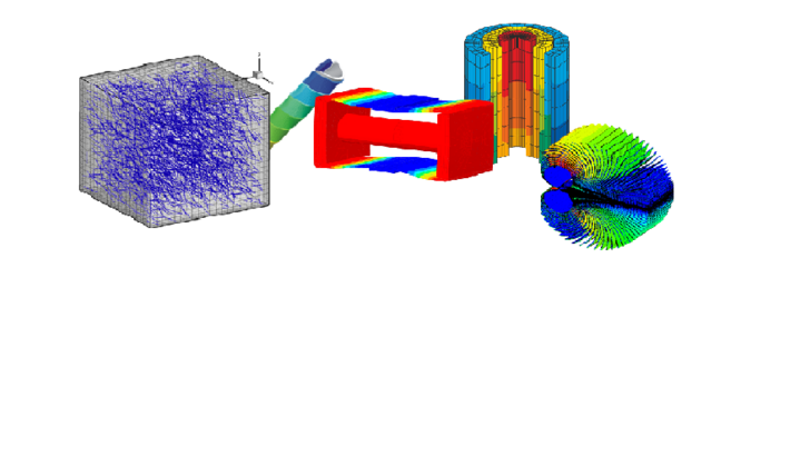 Modelling of functional materials and adaptive structures
