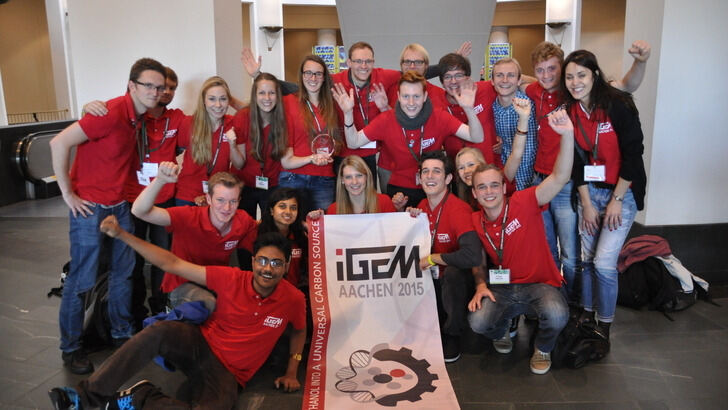 iGEM Team Aachen Wins Gold Medal in Boston