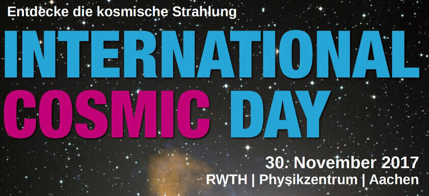 Logo des International Cosmic Day 2015
