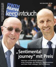Cover of Keep in touch, Issue 58